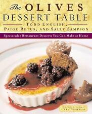 Olives Dessert Table Cookbook Recipes Hardback Book Restaurant You can Make Home