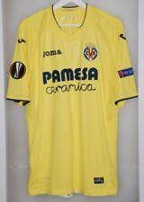 Match worn shirt jersey Villareal Spain Europa League Parma Milan Italy