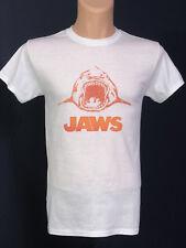 Jaws Movie T Shirt Retro Vintage Great White Shark as worn by Steven Spielberg