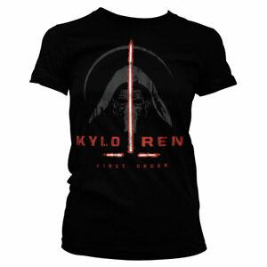 Officially Licensed Star Wars - Kylo Ren First Order Women's T-Shirt S-XXL Sizes