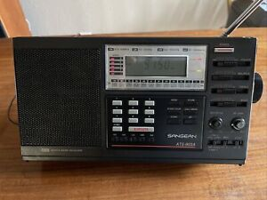Sangean ATS-803A World Band Direct Entry LW/AM/FM/SW Receiver Pre Owned.