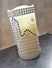 Home Made Arabic Calligraphy LED Candle for Décor and Gift- Ayat ul kursi-XLarge