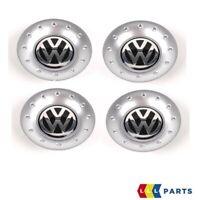 Neuf Original Volkswagen VW Golf MK4 Bora Centre de Roue Moyeu Bouchon Chrome