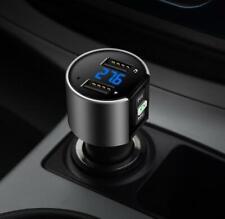 Bluetooth voiture Transmetteur FM Sans fil Lecteur MP3 LCD SD Radio USB Chargeur