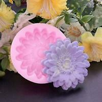 3D Blumen Silikon Fondant Kuchen Praline Dekor Sugar Form Form G1H4