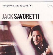 Jack Savoretti-When We Were Lovers Promo cd single