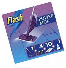 Flash Power mop Starter Kit All-in-One Power mop Cleaning Kit BNIB Purple