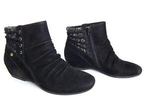 BARETRAPS PEANUT WOMEN BOOTS BLACK SIZE 9.5