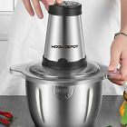 300W Electric Food Chopper Electric Stainless Steel Processor Meat Grinder Mixer photo