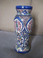 Ancien Vase Poterie SAFI signée Afrique du Nord Maroc XIXe