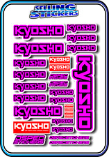KYOSHO MODEL RC CAR DRONE BOAT BUGGY MINI Z STICKERS DECALS ROBOT R/C PINK B