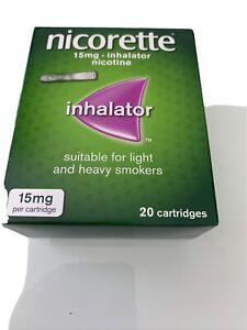 NICORETTE Inhalator, 15 mg, 20 Cartridges (Quit Smoking & Stop Smoking Aid)