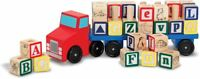 Melissa & Doug ALPHABET TRUCK Baby/Toddler/Child Wooden Toys Education Car BN
