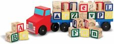 Melissa & Doug ALPHABET TRUCK Baby/Toddler/Child Wooden Toys Education Car BN