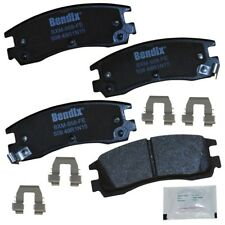 Disc Brake Pad Set-Premium Copper Free Semi-Metallic BPR Disc Brake Pad Rear