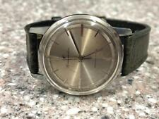 VINTAGE SS 1960 SEIKO MATIC J14075D DIAL SHOCK WATCH.