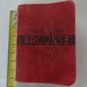 mini dictionnaire le plus petit Larousse (8x6 cm) 1946 style lilliput