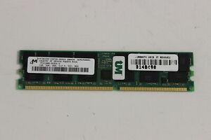 MICRON MT36VDDF12872F-265G3 1GB PC2100R  DDR 266 CL2 ECC  DIMM MEMORY MODULE