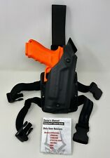Safariland 6004 Sls Tactical Leg Rh Holster Stx Black Glock 17 22 With Surefire