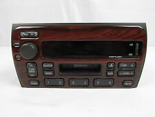 Cadillac Deville Delco AM FM Radio Cassette Player 09380816 RARE Faux Wood Face