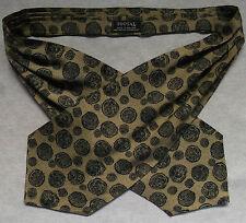 Tootal Cravatta ORO MONETE ROMANE Soldi Design Vintage Uomo Retro Anni 1960 anni 1970 MOD
