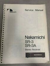 Nakamichi Sr-3 (Service Manual)
