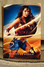 "Wonder Woman ""Gal Gadot"" Movie Color Poster Tabletop Display Standee 10.5 "" Tall"