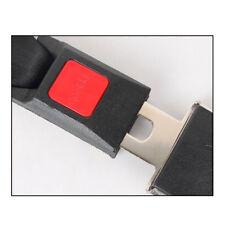 Black 2 Point  Auto Car Safety Seat Belt Buckle Keep Safe Wonderful Adjustable