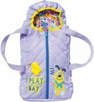Baby Born 2 In 1 Carrier Sleeping Bag Bed For 43cm Dolls Doll Toy Accessory