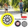 B7DA Pulley Wheel Scooter Casters Skateboard Wheel Scooter Wheel Practical