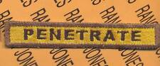 """508th Armored """"PENETRATE"""" TANK TAB patch"""