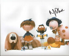 THE MAGIC ROUNDABOUT signed 10x8 Narrator NIGEL PLANNER