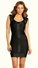 Closing Down French Connection Black Spotlight Knit Dress UK 14