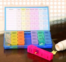 7 Tage Pillenbox Pillendose Tablettenbox Tablettendose