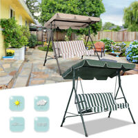 """76""""x44"""" Outdoor Patio Swing Canopy Top Replacement Cover Garden UV30+ 180g"""