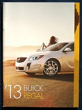 Prospekt brochure 2013 Buick Regal  (USA)