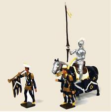 CBG Mignot #1208 Tournament Knight Sir Thomas Chandler -3 pcs - Mint Tied in Box