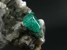"""GEM EMERALD CRYSTAL ON MATRIX FROM COLOMBIA - 2.9"""""""