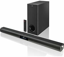 NUOVO JVC TH-WL515B 2.1 TV Sound Bar Speaker 220W Subwoofer senza fili Bluetooth HDM