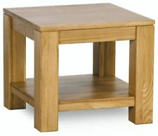 Oak Contemporary Side & End Tables