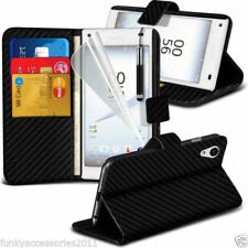 Synthetic Leather Mobile Phone Fitted Cases/Skins for Sony Xperia Z5