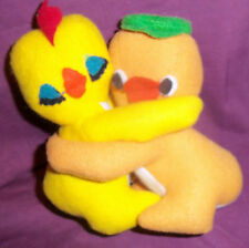 Knickerbocker Toy EMBRACEABLES Chicken Duck Hugging Plush Adorable SHIPS FREE!!