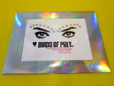 Birds of Prey Movie -Official Studio Promo Diamond Eyebrows Prop SWAG DC Comics