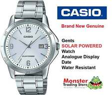 CASIO WATCH MTP-VS02D-7AD SOLAR POWERED WITH DATE 12 MONTH WARRANTY