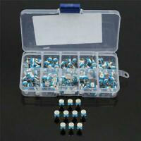 100pcs/Box Variable Resistors Potentiometer Assortment + Box 500ohm Kit E6Q5