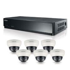 Samsung 8 Channel PoE NVR 2tb With 6 CCTV Cameras 3yr Warranty FREE CCTV SIGN