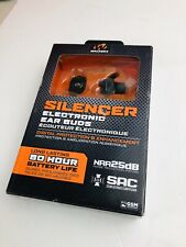 WALKERS GWP-SLCR SILENCER ELECTRONIC EAR BUDS 80 HOUR LIFE GWP-SLCR