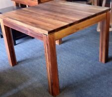 Dining Table 105x105 Blackwood solid timber Factory clearance sale