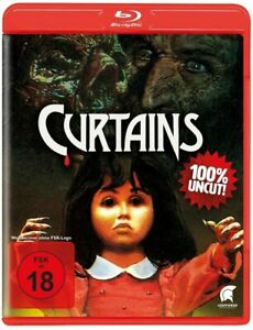 Curtains (1983) Uncut Blu Ray Region B Import New & Sealed