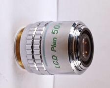 Nikon LCD Plan De 50x/0.55 Elwd Infinito Microscopio Objetivo
